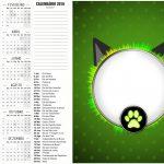 Calendario 2016 Miraculous Cat Noir