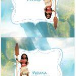 Cartão Agradecimento Kit Moana