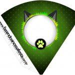 Cone Guloseimas Miraculous Cat Noir