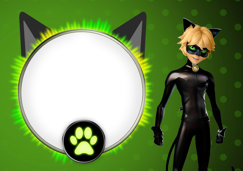 Convite Cat Noir