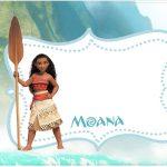 Convite ou Moldura Kit Moana