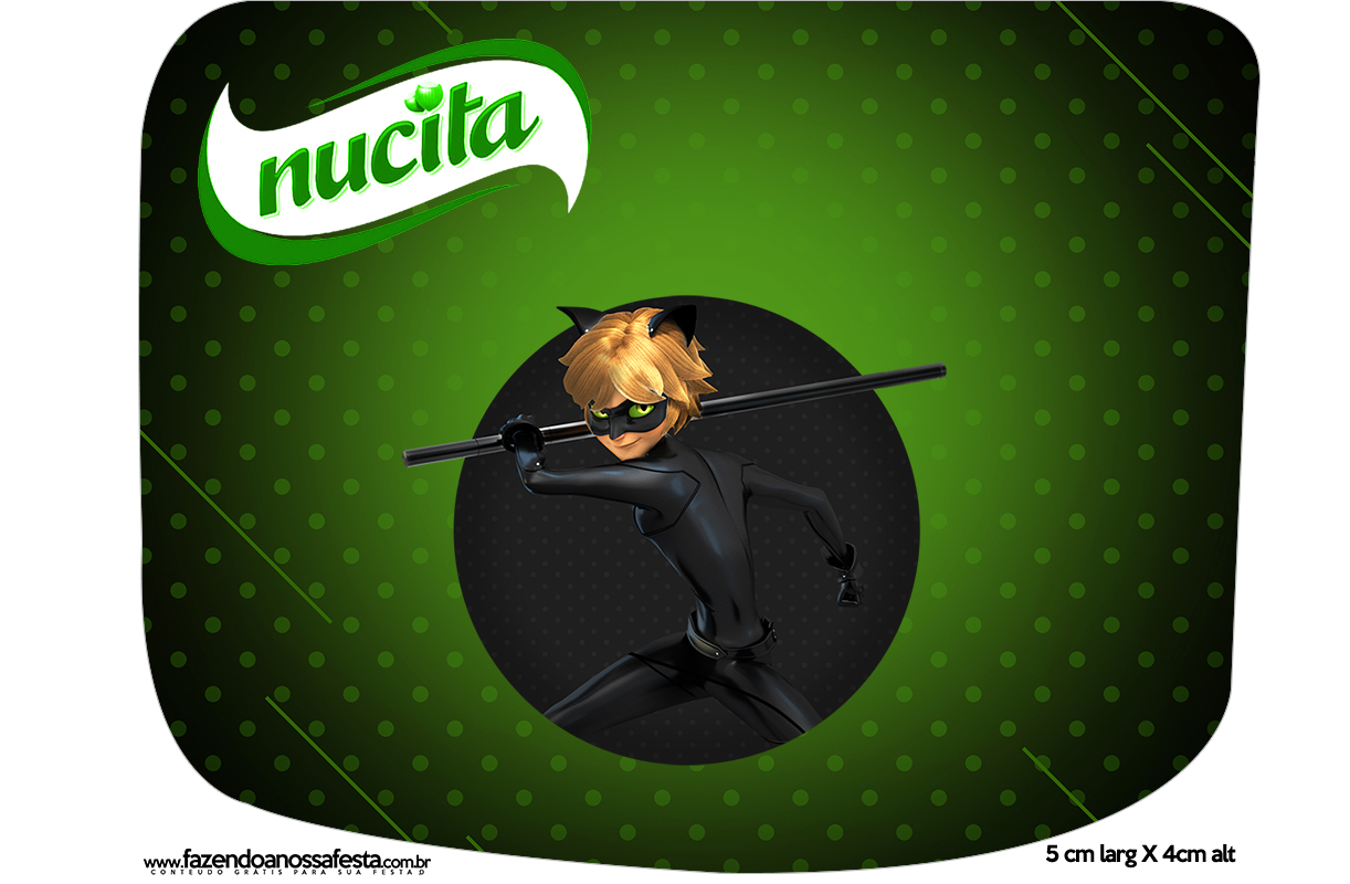 Creminho Nucita Miraculous Cat Noir