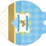 Enfeite Canudinho Kit Festa Carrossel Azul