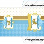Envelope CD DVD Carrossel Azul