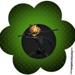 Flor Miraculous Cat Noir