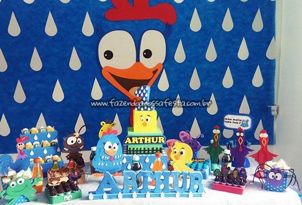 Festa Galinha Pintadinha Do Arthur