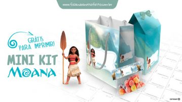 Mini Kit Moana Modelo