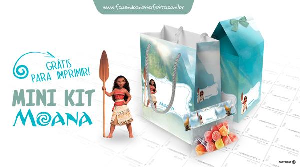 Mini Kit Moana Modelo