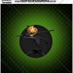 Molde Qualquer tamanho Miraculous Cat Noir