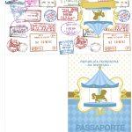 Passaporte Carrossel Azul