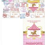 Passaporte Kit Festa Carrossel Encantado