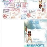 Passaporte Mini Kit Moana