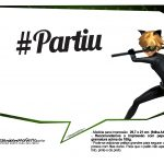 Plaquinhas Miraculous Cat Noir 19