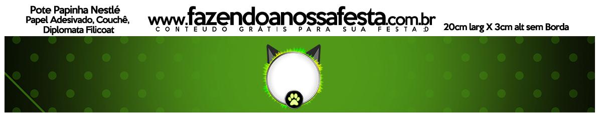Pote Papinha Miraculous Cat Noir