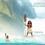 Revista Colorindo Kit Moana