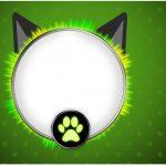 Rotulo Caixa bombom Miraculous Cat Noir