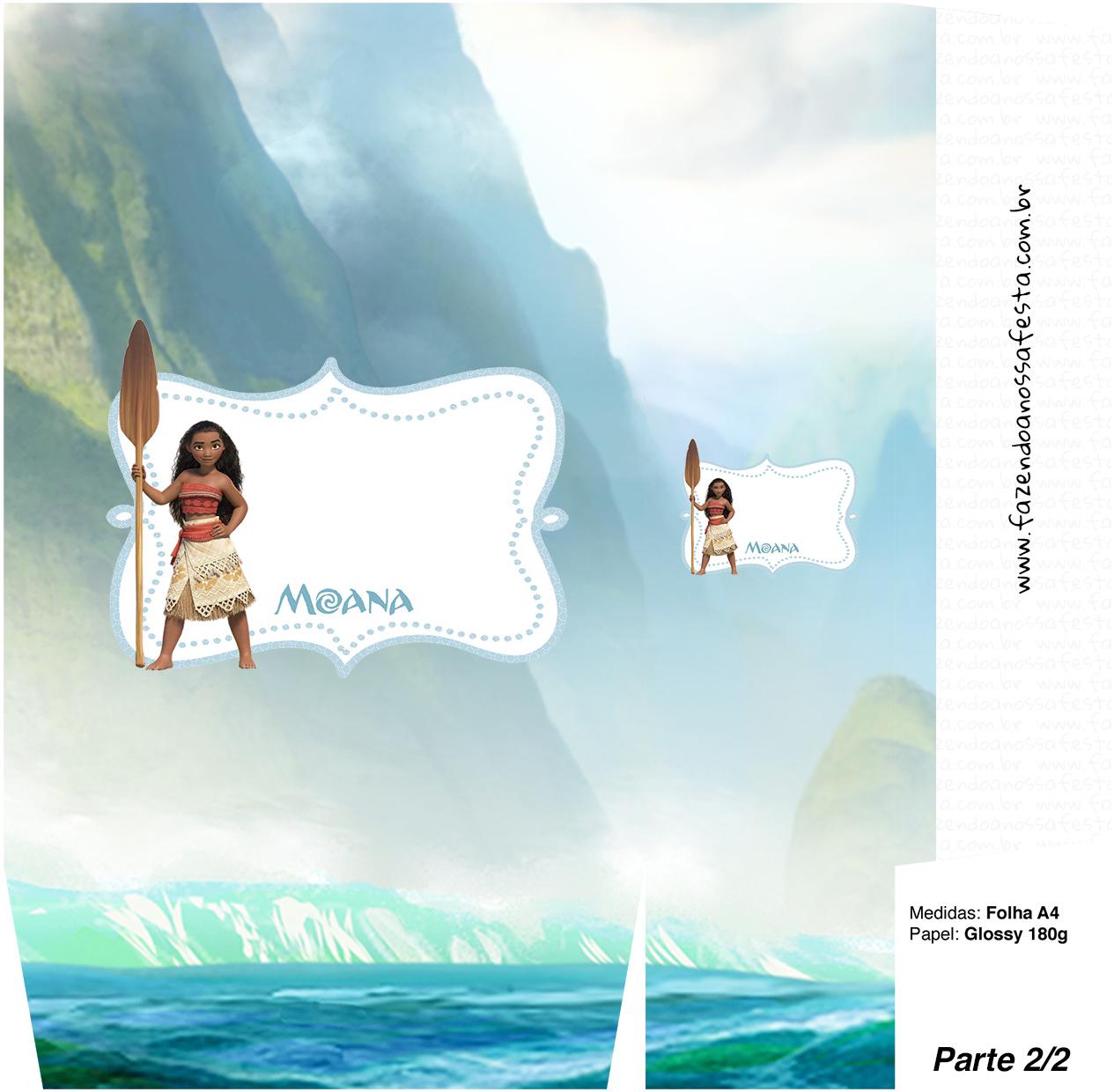 Sacolinha Kit Moana - parte 2