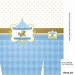 Sacolinha Surpresa Carrossel Azul - parte 2