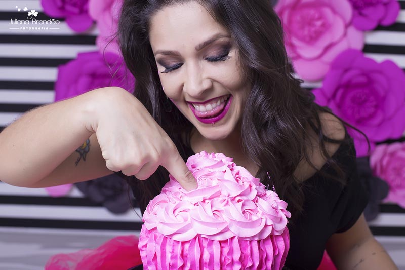 Smash the Cake 30 anos Juliana 19
