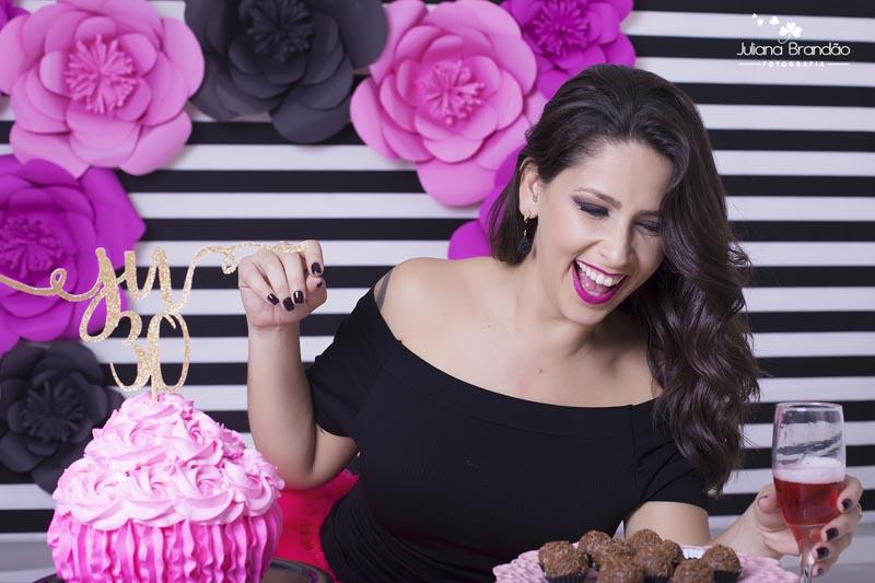 Smash the Cake 30 anos Juliana 9