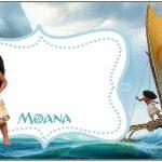 Tag Agradecimento Kit Moana