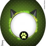 Tubete Oval Miraculous Cat Noir