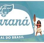 Rótulo Guaraná Caçulinha Kit Moana