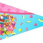 Bandeirinha Sanduiche 4 Shopkins