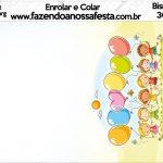 Bisnaga brigadeiro 30gr Kit Dia das Crianças
