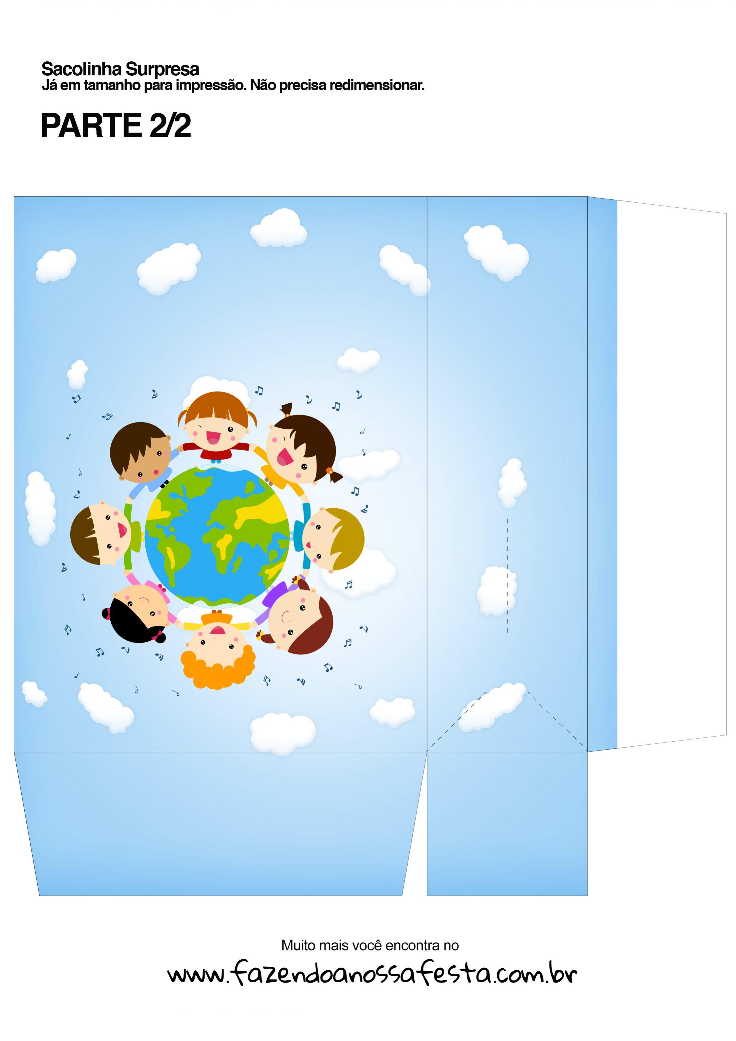 Sacolinha Dia das Crianças 1 - parte 1