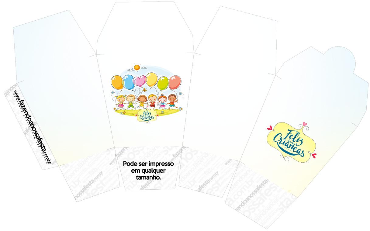 Caixa China in Box Kit Dia das Crianças
