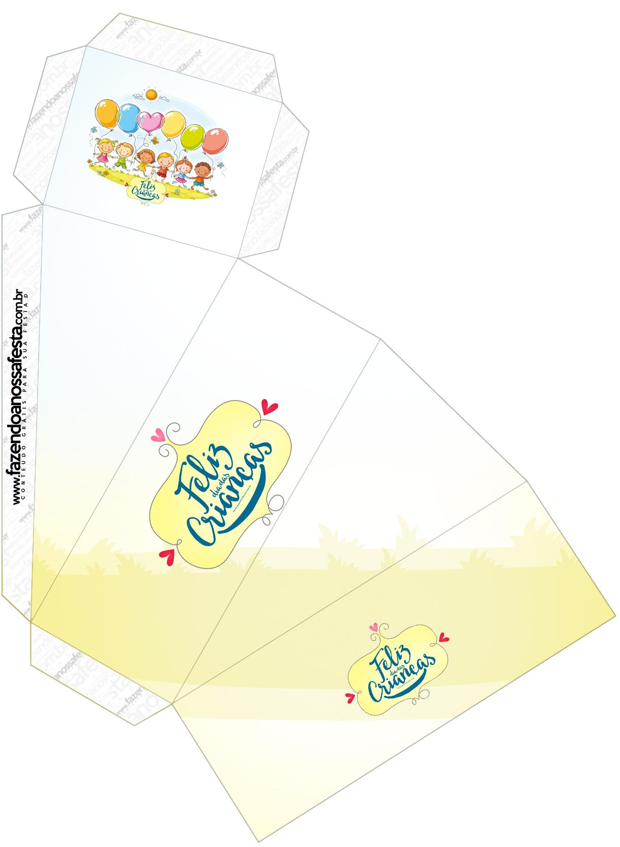 Caixa Fatia Kit Dia das Crianças