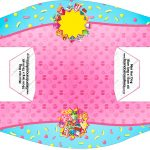 Convite Cupcake Shopkins