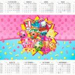 Calendario 2016 Shopkins