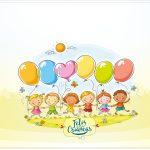 Cartão Kit Dia das Crianças