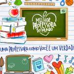 Cartão Prestígio Dia dos Professores
