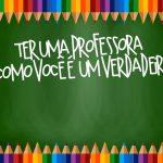 Cartão Prestígio Dia dos Professores 8