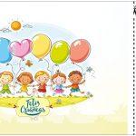 Convite Ingresso Kit Dia das Crianças