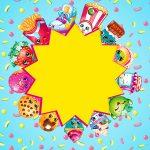 Convite para Festa Kit Festa Shopkins