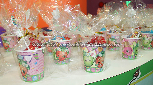 Copinhos Festa Infantil Shopkins