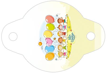 Enfeite Canudinho Kit Dia das Crianças