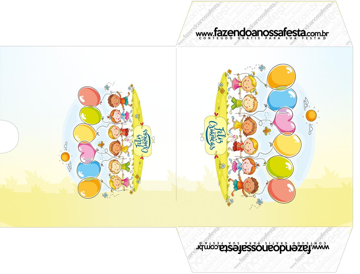 Envelope CD DVD Kit Dia das Crianças