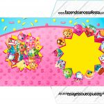 Envelope CD DVD Kit Festa Shopkins