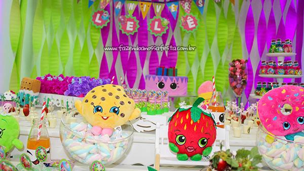 Festa Infantil Shopkins 4
