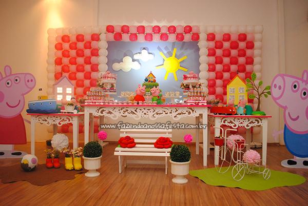 Festa Peppa Pig da Maria Fernanda