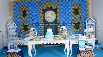 Detalhes Festa Príncipe Miguel 1 ano