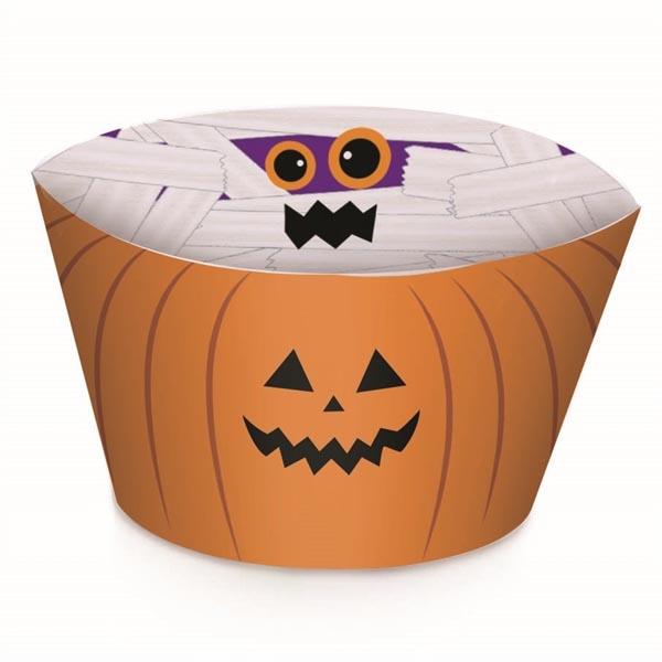 Saias Wrappers para Cupcakes Halloween - Tudo para festa Halloween