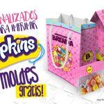 Kit Festa Shopkins Grátis para Imprimir