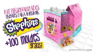 Kit Festa Shopkins Modelo