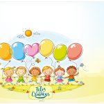 Lata de leite Kit Dia das Crianças